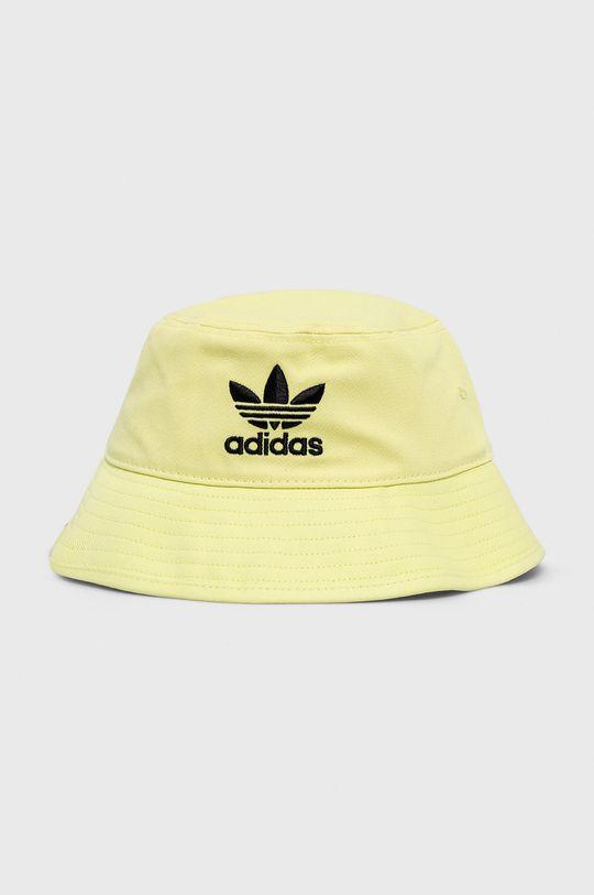 jasně žlutá adidas Originals - Klobouk