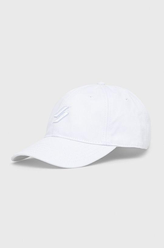 bílá Superdry - Čepice Pánský
