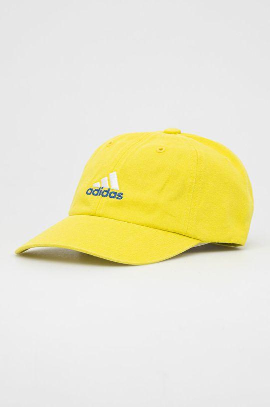 żółty adidas Performance - Czapka Unisex