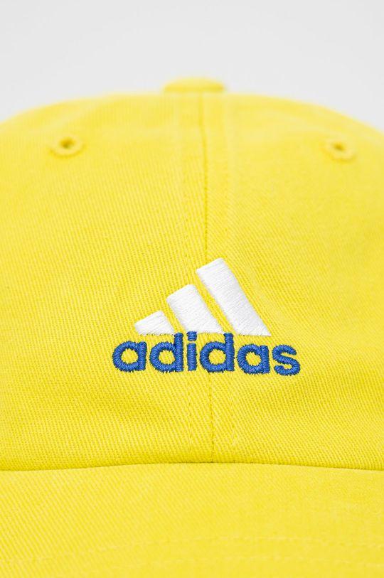 adidas Performance - Czapka żółty