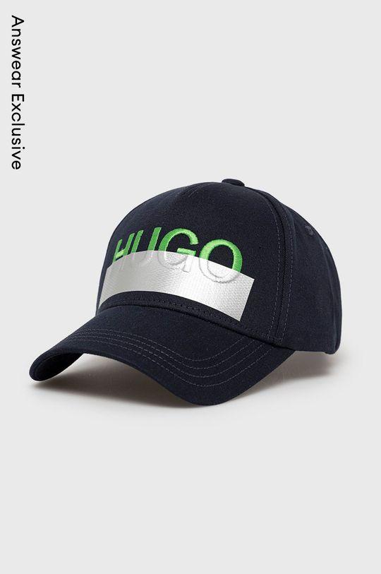 námořnická modř Hugo - Čepice Unisex