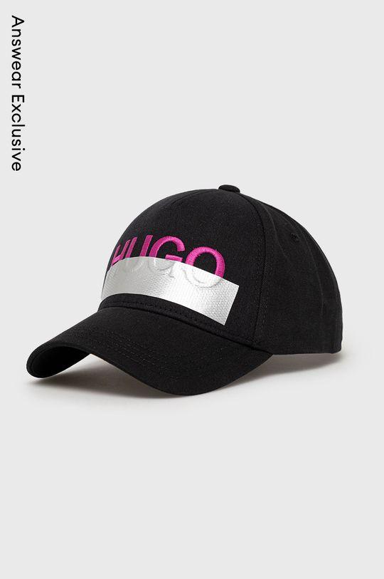 čierna Hugo - Čiapka Unisex