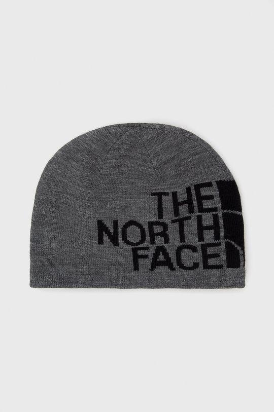 szary The North Face - Czapka dwustronna Unisex
