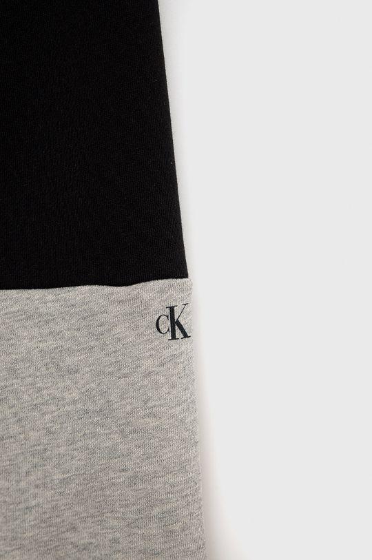 jasny szary Calvin Klein Jeans - Komplet dziecięcy