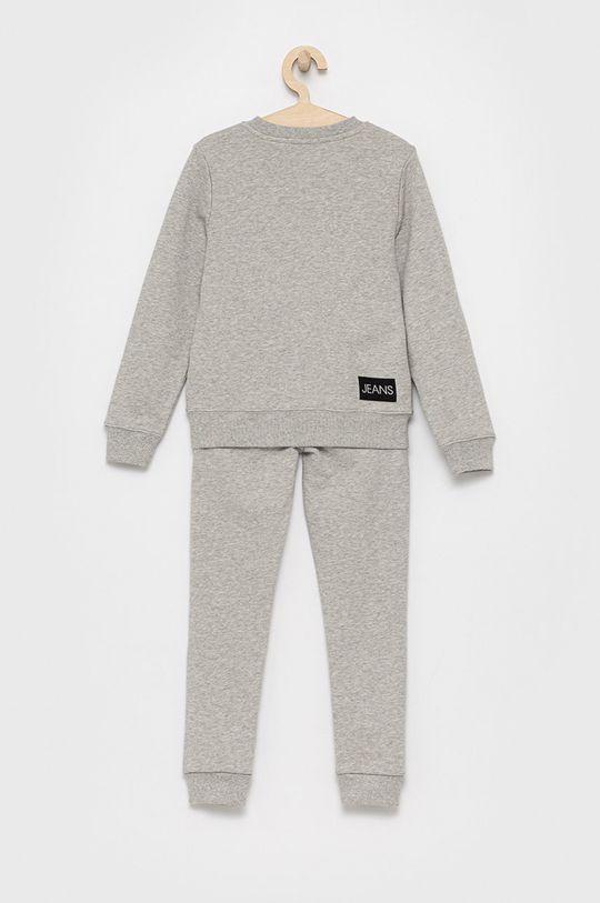 Calvin Klein Jeans - Komplet dziecięcy jasny szary