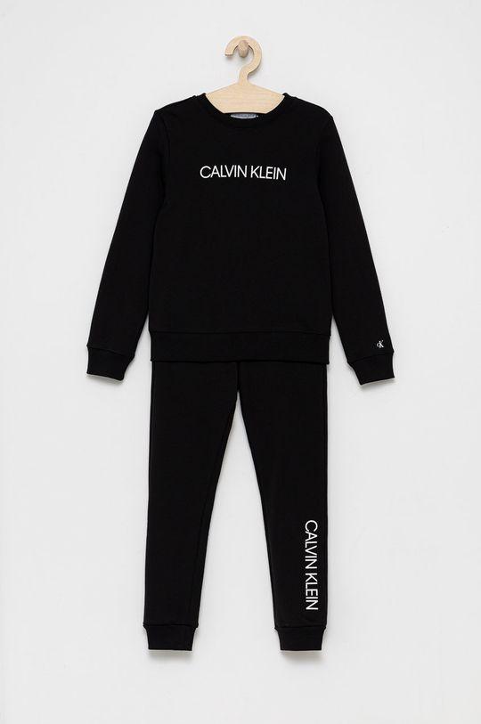 czarny Calvin Klein Jeans - Komplet dziecięcy Chłopięcy