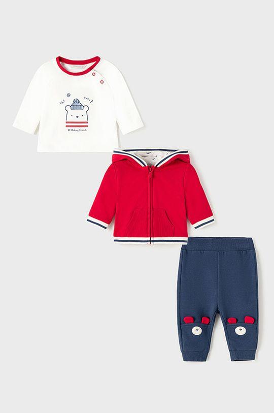 czerwony Mayoral Newborn - Komplet dziecięcy Chłopięcy
