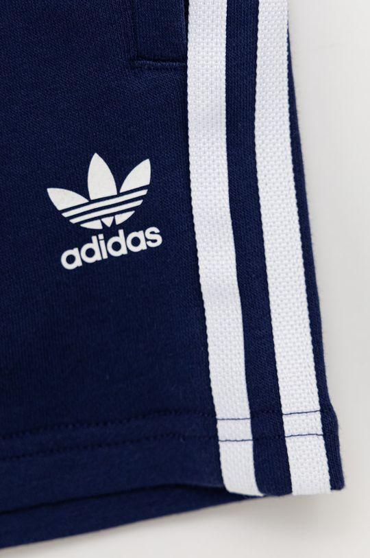 námořnická modř adidas Originals - Dětská tepláková souprava