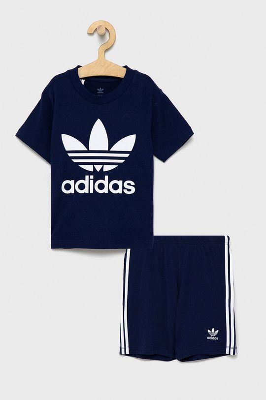 granatowy Adidas Originals - Komplet dziecięcy Chłopięcy