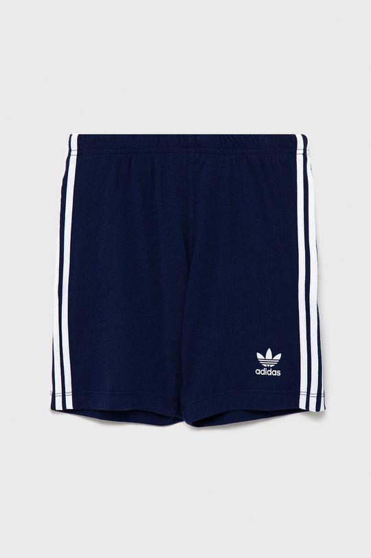granatowy Adidas Originals - Komplet dziecięcy