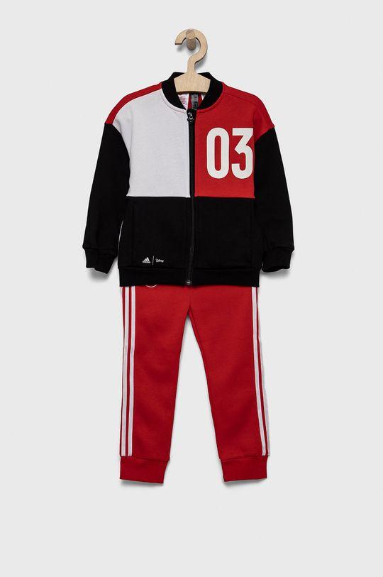 czerwony adidas Performance - Dres dziecięcy x Disney Chłopięcy