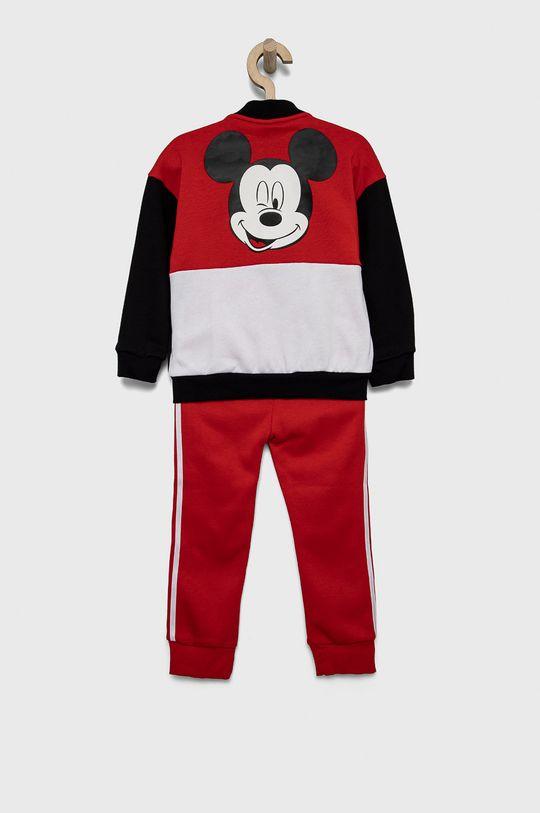 adidas Performance - Dres dziecięcy x Disney czerwony