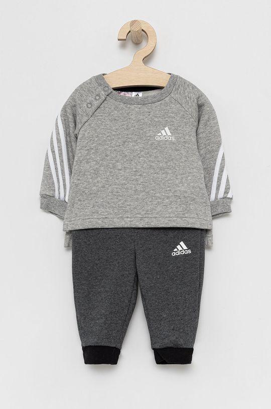 szary adidas Performance - Dres dziecięcy Chłopięcy