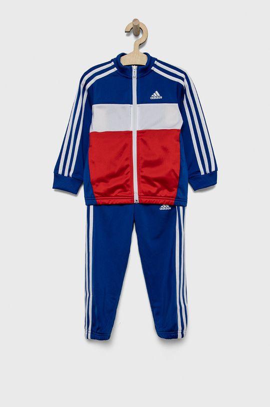 niebieski adidas - Dres dziecięcy Chłopięcy