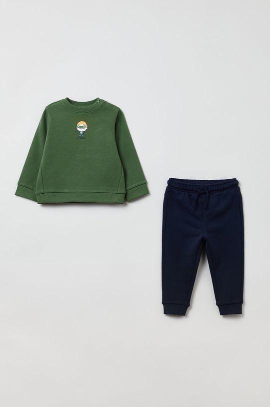 brudny zielony OVS - Dres dziecięcy Chłopięcy