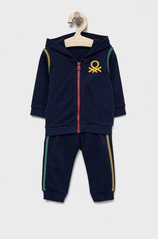 tmavomodrá United Colors of Benetton - Detská tepláková súprava Chlapčenský