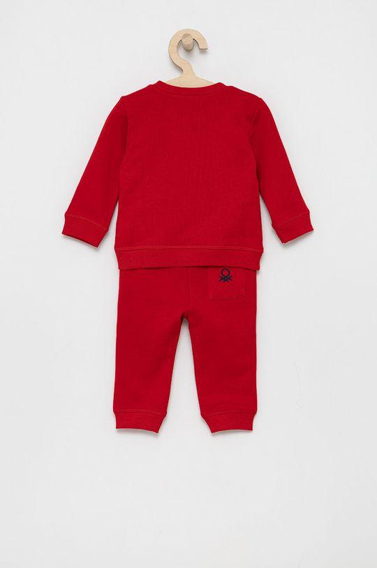 United Colors of Benetton - Dres dziecięcy czerwony