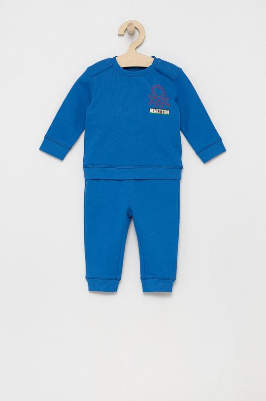 niebieski United Colors of Benetton - Dres dziecięcy Chłopięcy