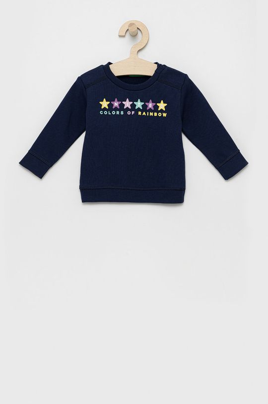 United Colors of Benetton - Dres dziecięcy granatowy