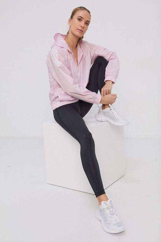 pastelowy różowy Reebok - Komplet - kurtka i legginsy Damski