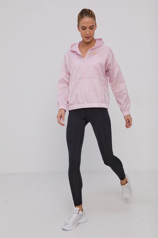 Reebok - Komplet - kurtka i legginsy pastelowy różowy