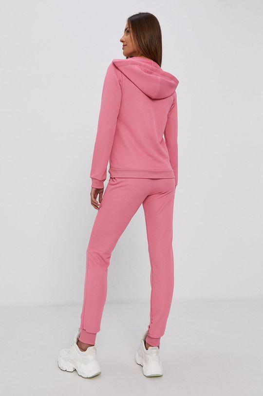 fiołkowo różowy adidas - Dres