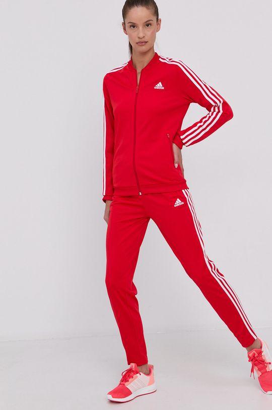 červená adidas - Souprava Dámský