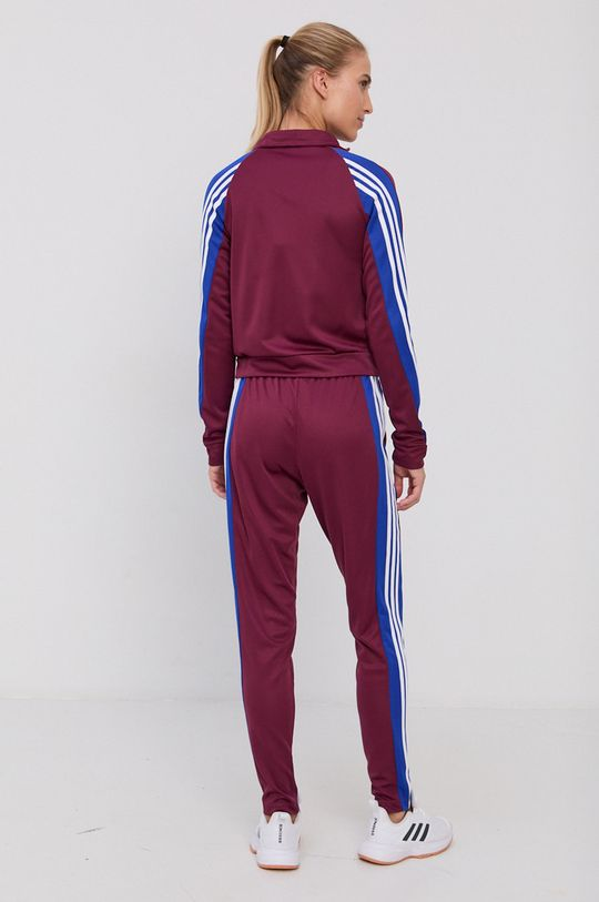 ciemny fioletowy adidas Performance - Dres