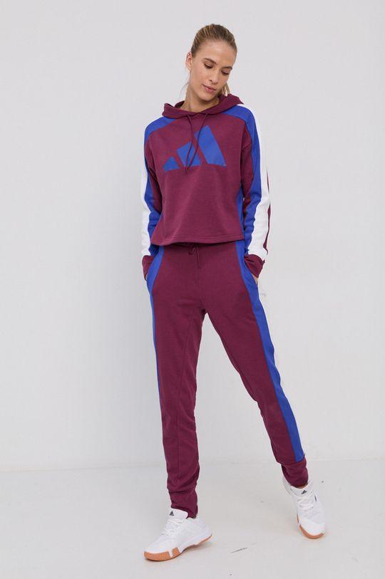adidas Performance - Dres ciemny fioletowy