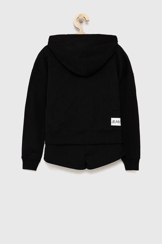 Calvin Klein Jeans - Detská tepláková súprava čierna