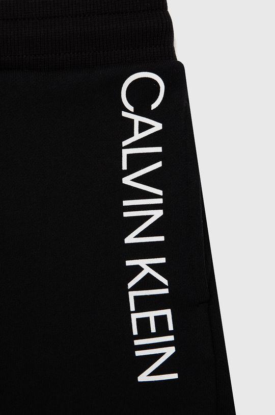 čierna Calvin Klein Jeans - Detská tepláková súprava