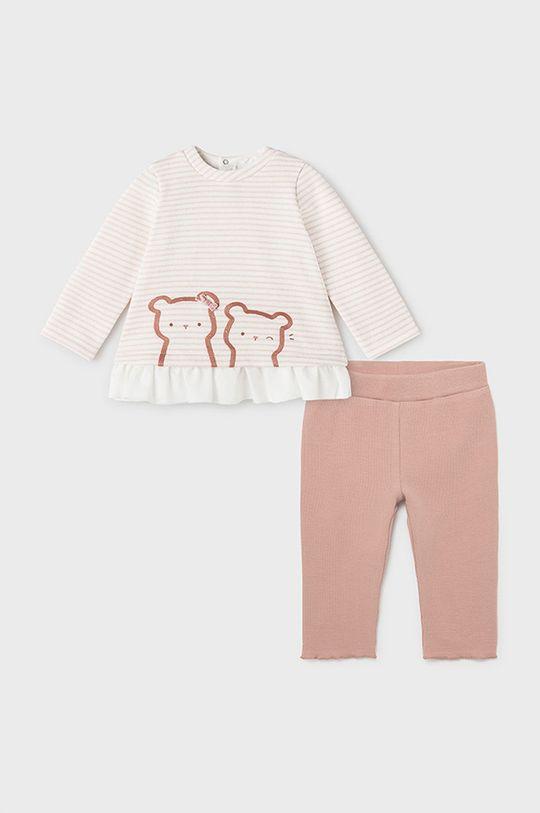 pastelowy różowy Mayoral Newborn - Komplet dziecięcy Dziewczęcy