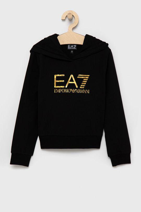 EA7 Emporio Armani - Dres dziecięcy czarny
