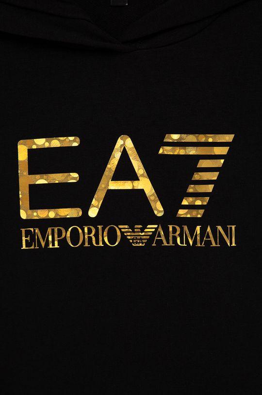 czarny EA7 Emporio Armani - Dres dziecięcy