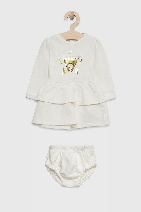 biały Guess - Sukienka dziecięca Dziewczęcy