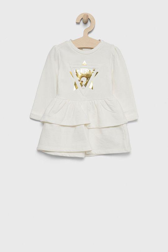 Guess - Sukienka dziecięca biały