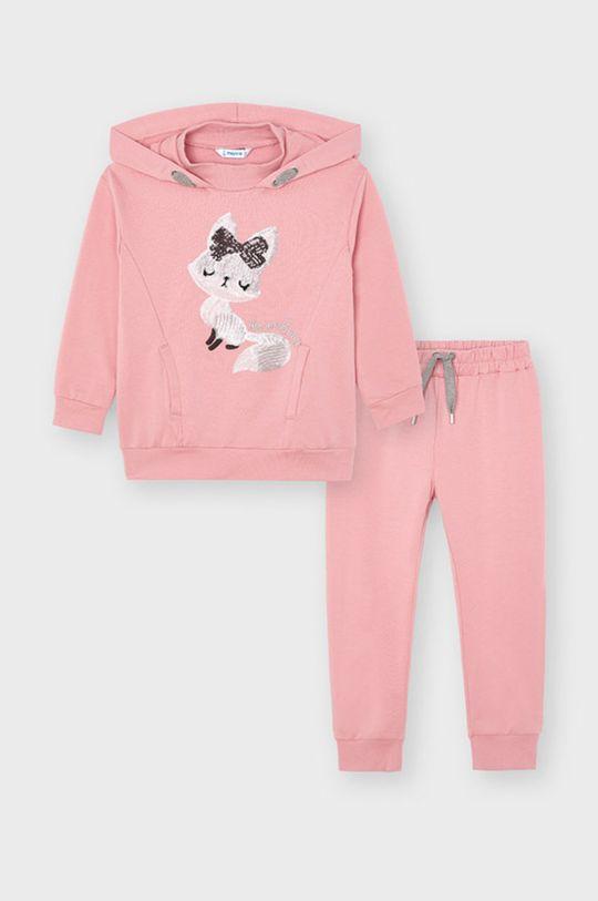 różowy Mayoral - Dres dziecięcy Dziewczęcy