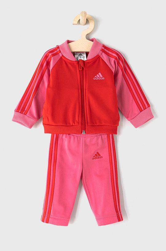 růžová adidas - Dětská tepláková souprava 62-104 cm Dívčí