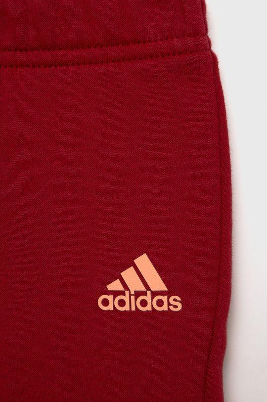czerwony adidas - Komplet dziecięcy