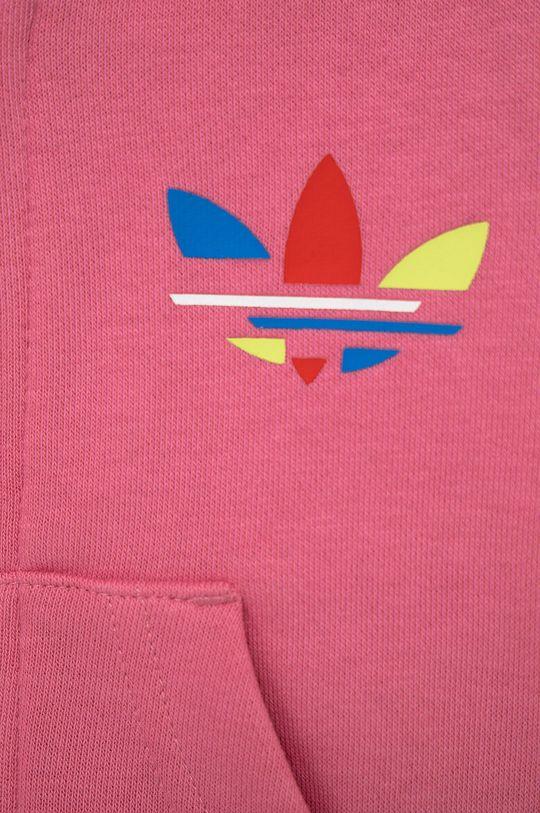 różowy adidas Originals - Dres dziecięcy