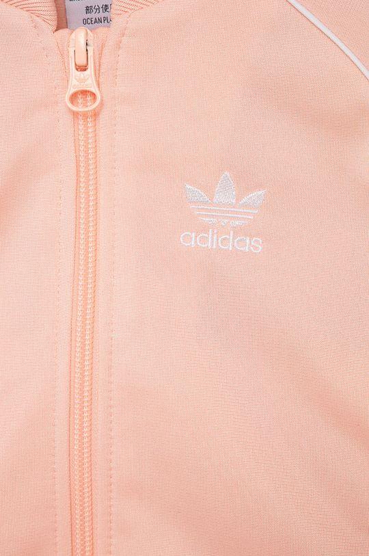 różowy adidas Originals - Komplet dziecięcy