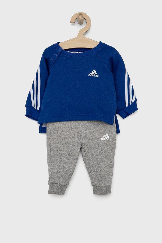 modrá adidas Performance - Dětská tepláková souprava Dívčí
