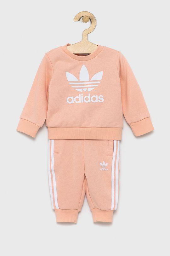 różowy adidas Originals - Dres dziecięcy Dziewczęcy