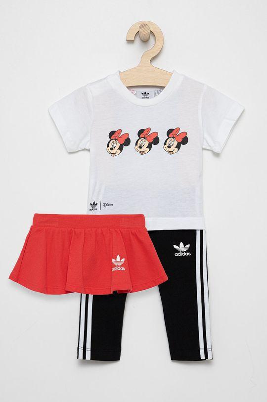 biały adidas Originals - Komplet dziecięcy (3-pack) Dziewczęcy