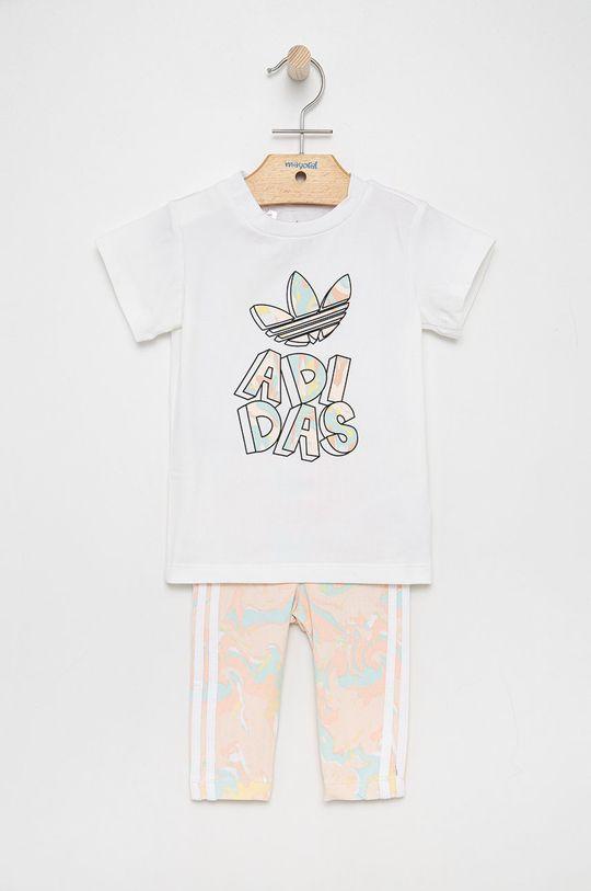 biały adidas Originals - Komplet dziecięcy Dziewczęcy