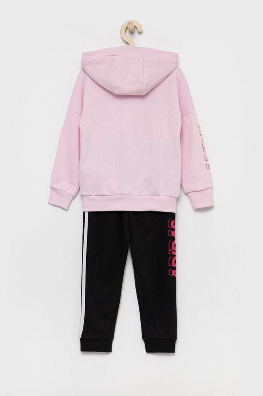 adidas Performance - Dres dziecięcy pastelowy różowy