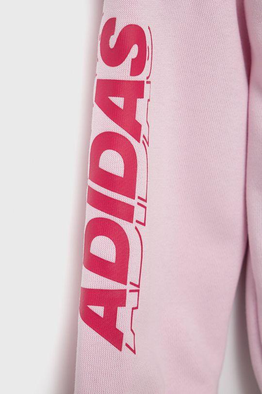 adidas Performance - Dres dziecięcy Materiał 1: 60 % Bawełna, 40 % Poliester z recyklingu, Materiał 2: 60 % Bawełna, 40 % Poliester z recyklingu, Podszewka kaptura: 100 % Bawełna