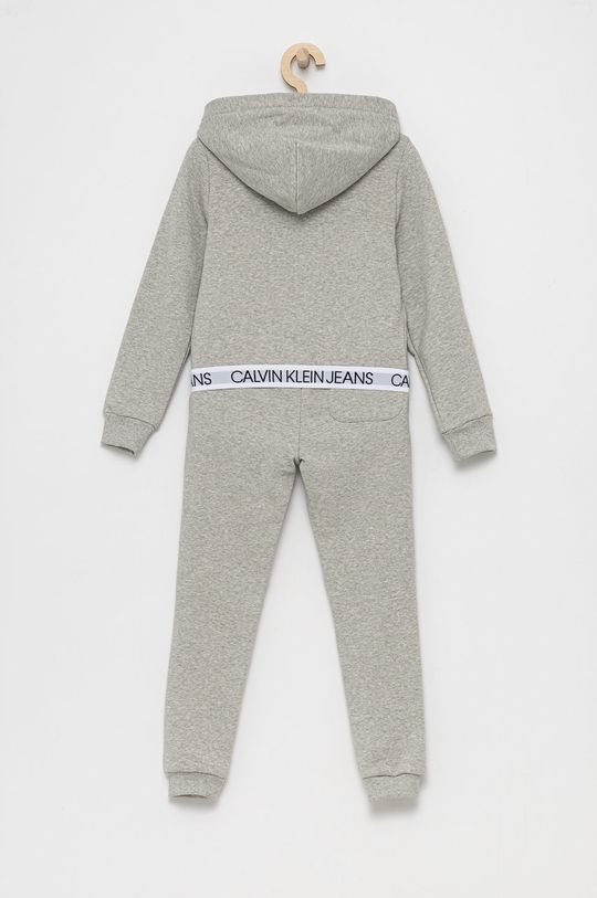 Calvin Klein Jeans - Dres dziecięcy jasny szary