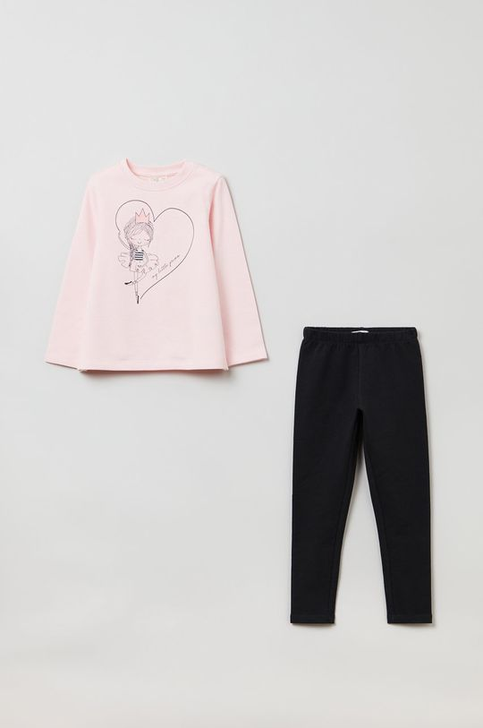 różowy OVS - Komplet dziecięcy Dziewczęcy
