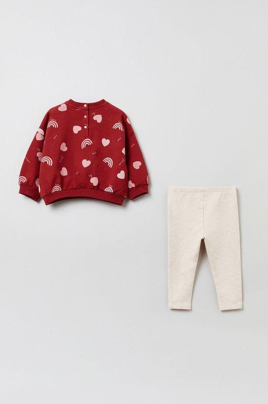 OVS - Komplet dziecięcy czerwony